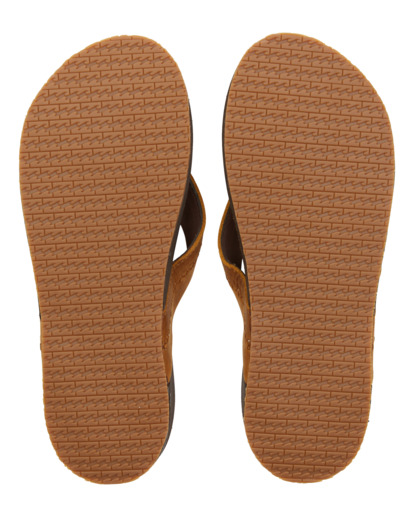 1 Brunswick Leather - Sandals for Men Brown W5FF21BIP1 Billabong