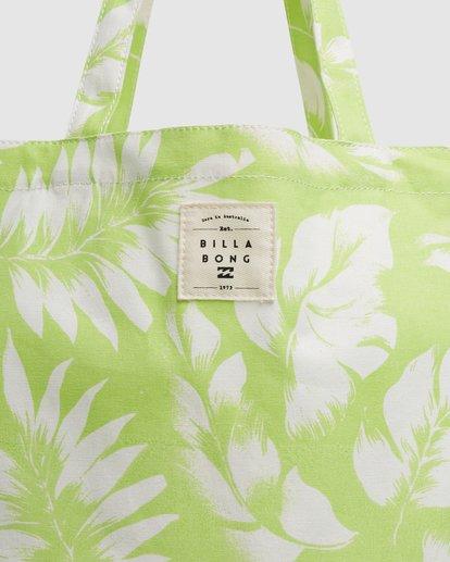 4 Summer Fun - Bolsa de tela para Mujer Verde W9BG50BIP1 Billabong