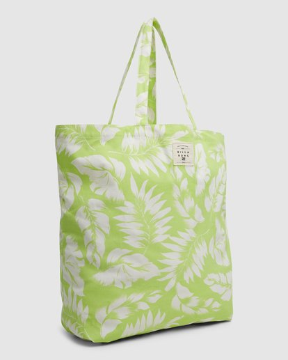 1 Summer Fun - Bolsa de tela para Mujer Verde W9BG50BIP1 Billabong