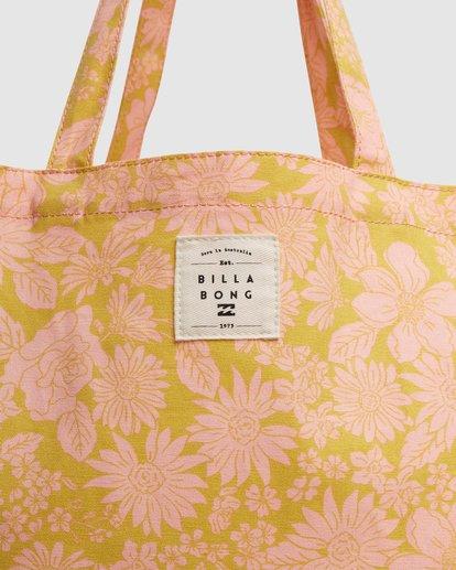 4 Summer Fun - Bolsa de tela para Mujer Naranja W9BG50BIP1 Billabong