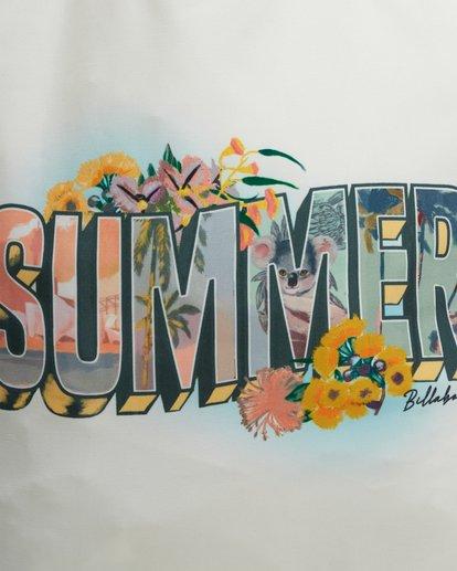 4 Summer Fun - Tote bag pour Femme Blanc W9BG50BIP1 Billabong