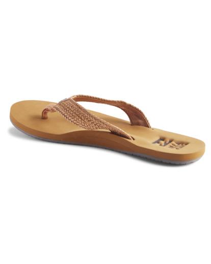 2 Kai - Sandalias para Mujer Beige W9FF16BIP1 Billabong