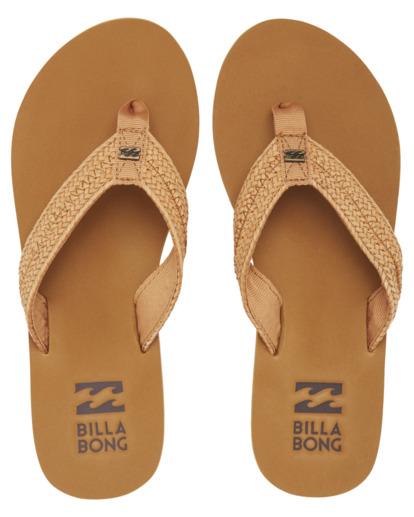 1 Kai - Sandalias para Mujer Beige W9FF16BIP1 Billabong