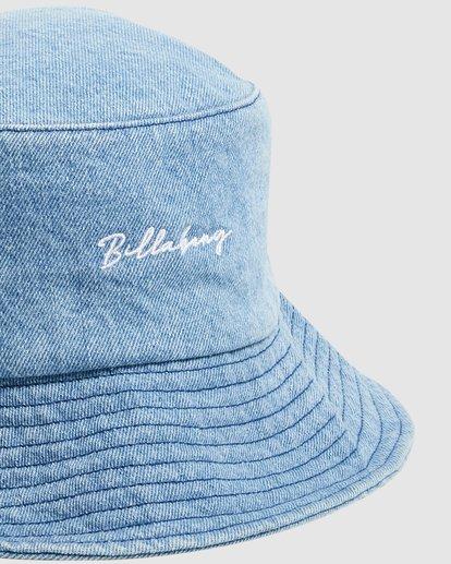 3 Steph - Gorro de Pescador para Mujer Azul W9HT51BIP1 Billabong