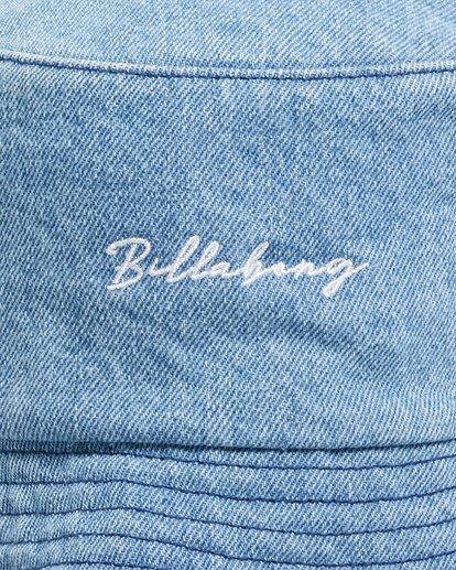 4 Steph - Gorro de Pescador para Mujer Azul W9HT51BIP1 Billabong