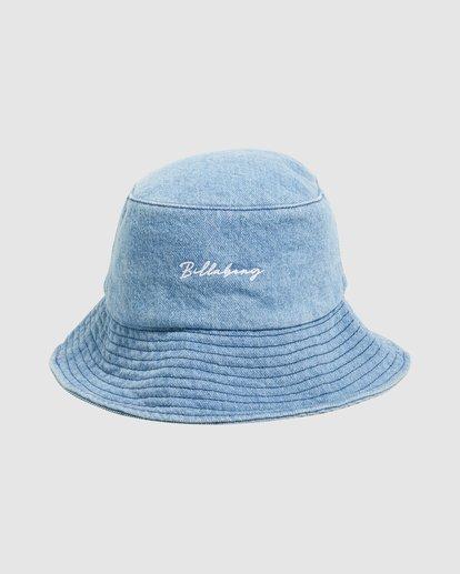 0 Steph - Gorro de Pescador para Mujer Azul W9HT51BIP1 Billabong