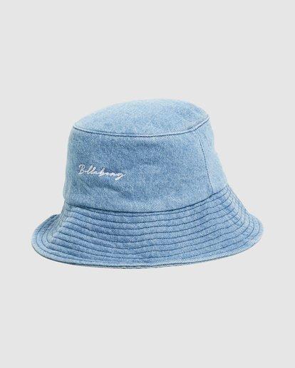 2 Steph - Gorro de Pescador para Mujer Azul W9HT51BIP1 Billabong