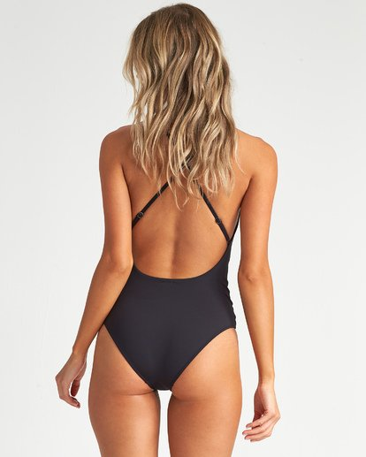 2 Sol Searcher One Piece Swim Black X102UBSO Billabong