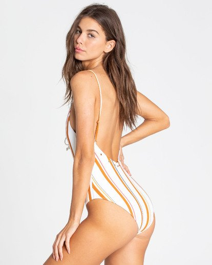 2 Sunstruck One Piece Swim Yellow X103TBSU Billabong