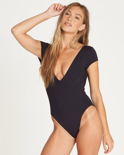 1 Sol Searcher One Piece Swim Black X103UBSO Billabong
