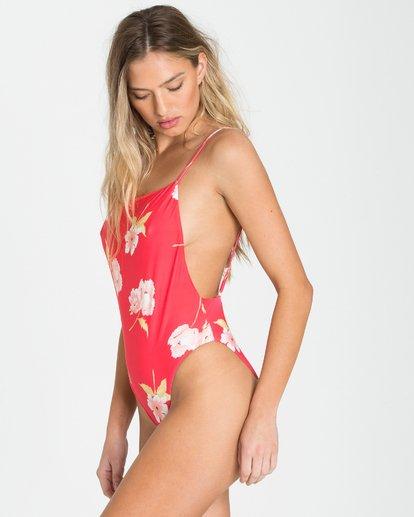 2 Floral Dawn One Piece Swim Pink X104PBFL Billabong