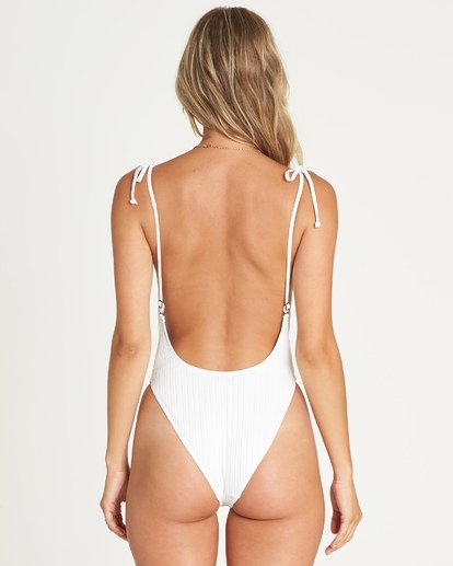 2 Sunny Rib One Piece Swim White X106UBSU Billabong