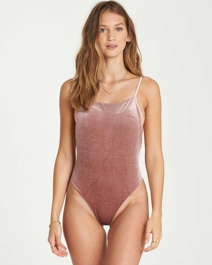 0 Fool4U One Piece Swim Purple X107QBFO Billabong