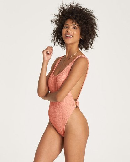 1 Summer High One Piece Swim Orange X107WBSU Billabong