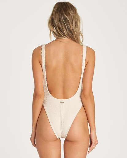 4 Summer High One Piece Swim White X107WBSU Billabong
