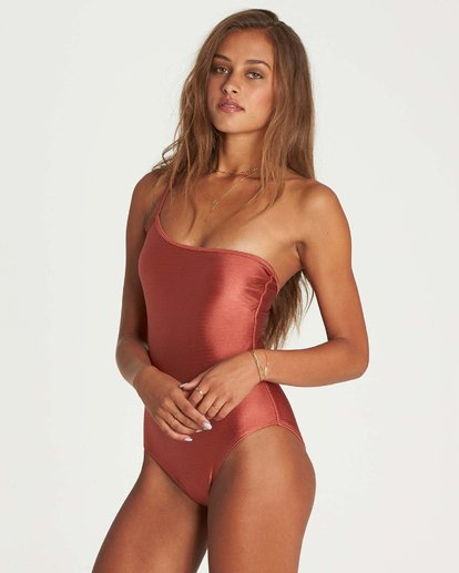 2 Love Bound One Piece Swim Red X108NBLO Billabong