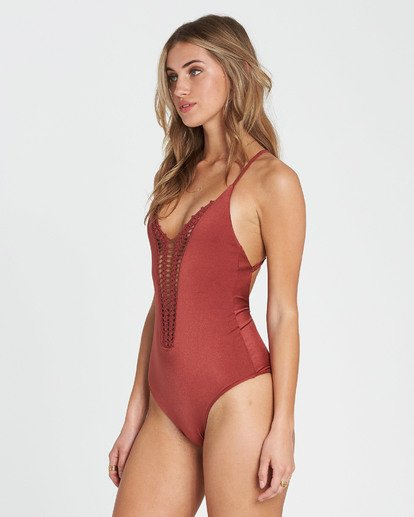 1 Hippie Hooray One Piece Swim Red X111EHIP Billabong