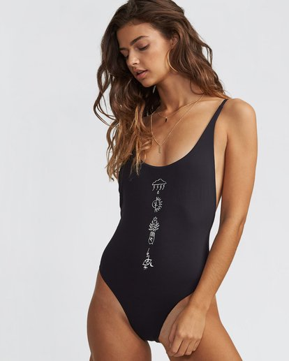 0 Kris Chau One Piece Swim  X113SBKR Billabong