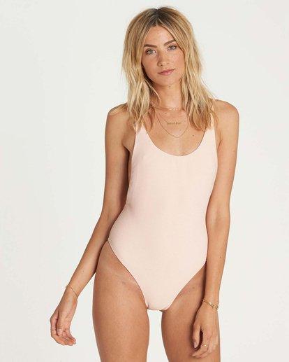 1 Tanlines One Piece Swim Pink X114NBTA Billabong