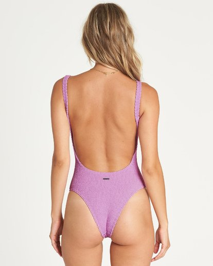 3 Summer High One Piece Swim Purple X114UBSU Billabong
