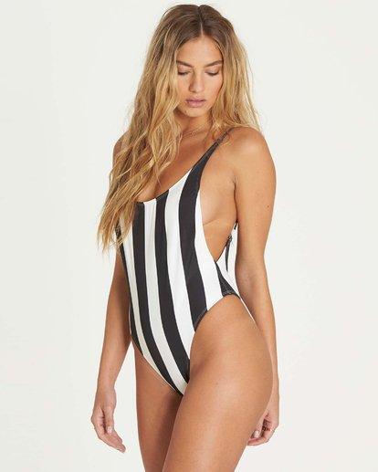 1 Warhol Surf Stripe One Piece Swim  X116LWAR Billabong
