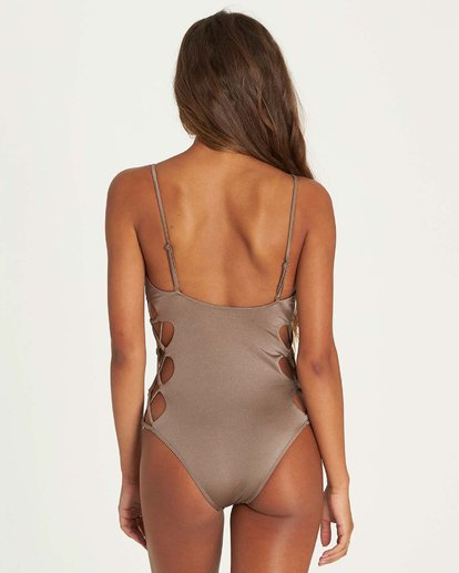 2 Sol Searcher One Piece Swim Beige X117NBSO Billabong