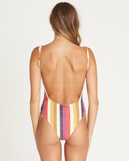 3 Shady Lane One Piece Swim Black X117UBSH Billabong