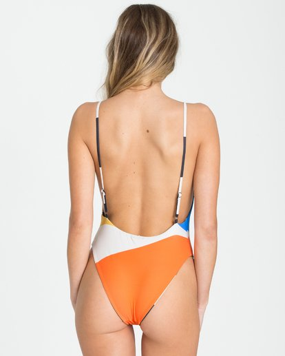 6 Vai Vai Reversible One Piece Swim  X120QBVA Billabong