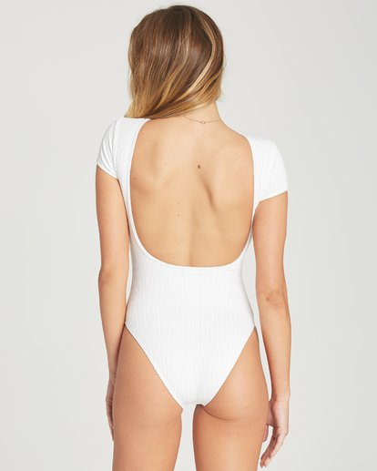 3 Heating Up Bodysuit Swim White X125TBHE Billabong