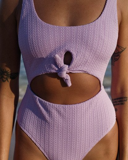 1 Braid Rib One Piece Purple X1911BBR Billabong