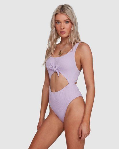 3 Braid Rib One Piece Purple X1911BBR Billabong