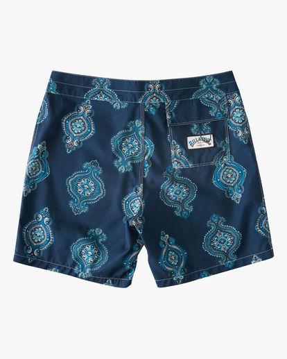 "1 Sundays Sano 17"" - Recycled Board Shorts for Men Purple X1BS15BIS1 Billabong"