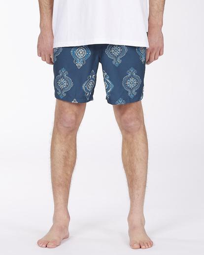 "2 Sundays Sano 17"" - Recycled Board Shorts for Men Purple X1BS15BIS1 Billabong"