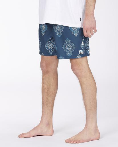 "3 Sundays Sano 17"" - Recycled Board Shorts for Men Purple X1BS15BIS1 Billabong"