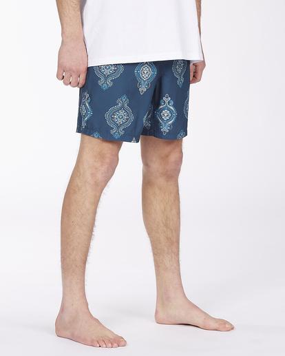 "4 Sundays Sano 17"" - Recycled Board Shorts for Men Purple X1BS15BIS1 Billabong"