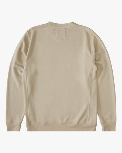 4 Adventure Division Ventura Hemp - Recyceltes Sweatshirt für Männer Beige X1FL01BIS1 Billabong
