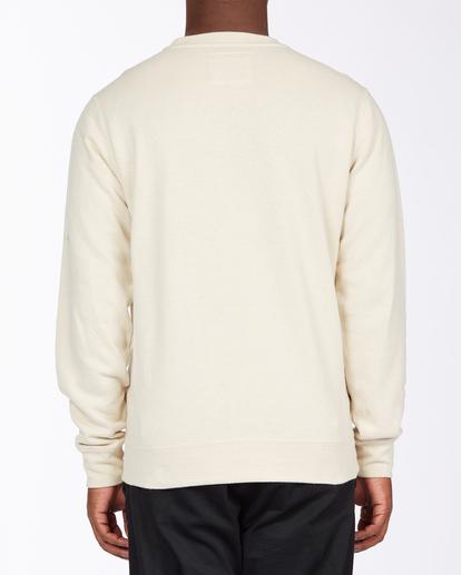 2 Adventure Division Ventura Hemp - Recyceltes Sweatshirt für Männer Beige X1FL01BIS1 Billabong