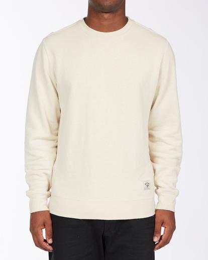 0 Adventure Division Ventura Hemp - Recyceltes Sweatshirt für Männer Beige X1FL01BIS1 Billabong