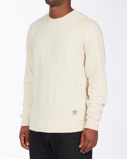 1 Adventure Division Ventura Hemp - Recyceltes Sweatshirt für Männer Beige X1FL01BIS1 Billabong