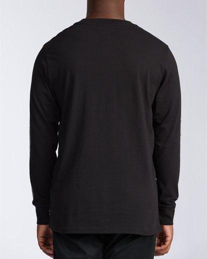 4 Atmoshere - T-shirt met Lange Mouw voor Heren Black X1LS20BIS1 Billabong