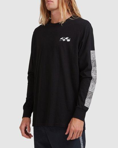 8 Atmoshere - T-shirt met Lange Mouw voor Heren Black X1LS20BIS1 Billabong