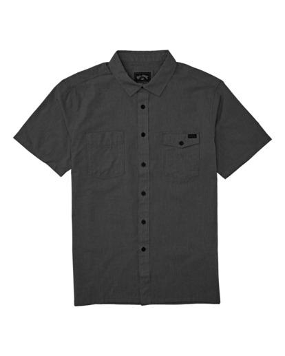 0 Adventure Division Surftrek - Camisa de manga corta de tejido reciclado para Hombre Negro X1SH02BIS1 Billabong