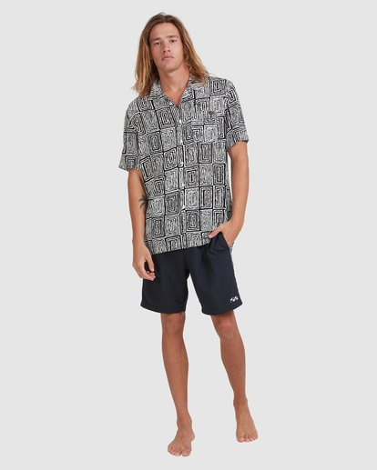 7 Otis Sky - Short Sleeve Shirt for Men Black X1SH21BIS1 Billabong