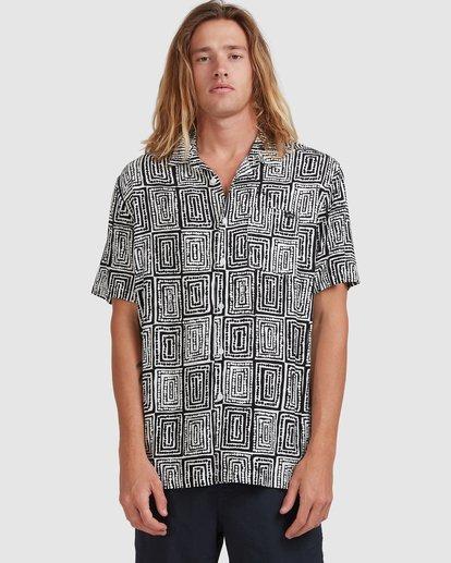 5 Otis Sky - Short Sleeve Shirt for Men Black X1SH21BIS1 Billabong