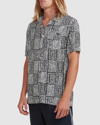 3 Otis Sky - Short Sleeve Shirt for Men Black X1SH21BIS1 Billabong