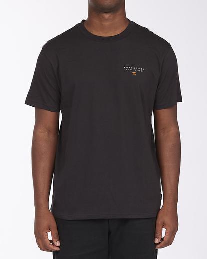 0 Adventure Division Lines - Organic T-Shirt for Men Black X1SS06BIS1 Billabong