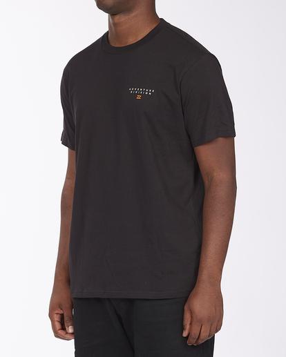 1 Adventure Division Lines - Organic T-Shirt for Men Black X1SS06BIS1 Billabong