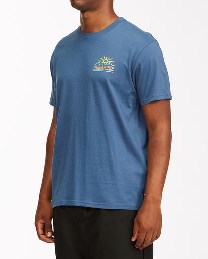 1 Adventure Division Hills - T-Shirt for Men Blue X1SS12BIS1 Billabong