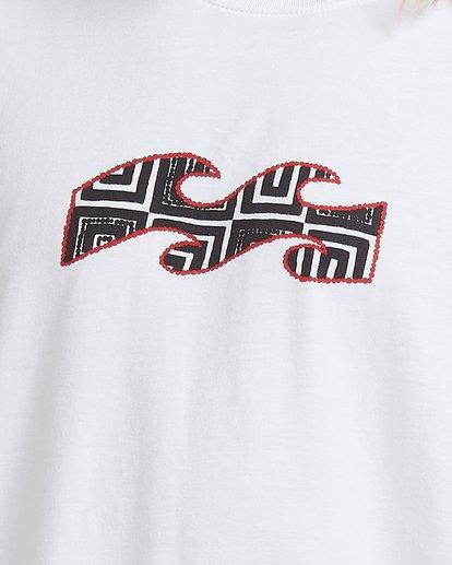 9 Air - T-Shirt for Men White X1SS16BIS1 Billabong
