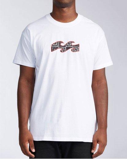 4 Air - T-Shirt for Men White X1SS16BIS1 Billabong